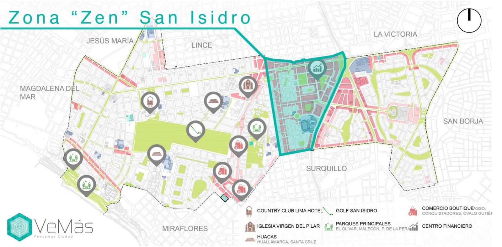 SAN ISIDRO Zona Zen