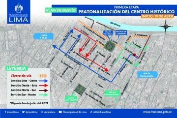 Peatonalización del Centro Histórico de Lima